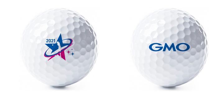 GMOインターネット・レディース サマンサタバサグローバルカップ オリジナル・ゴルフボール 20名様
